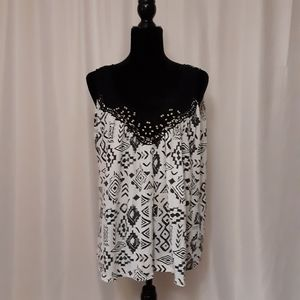 French Laundry Sleeveless Top A733